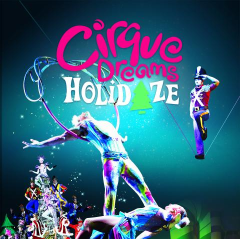 Cirque Christmas.Cirque Dreams Holidaze The Carson Center